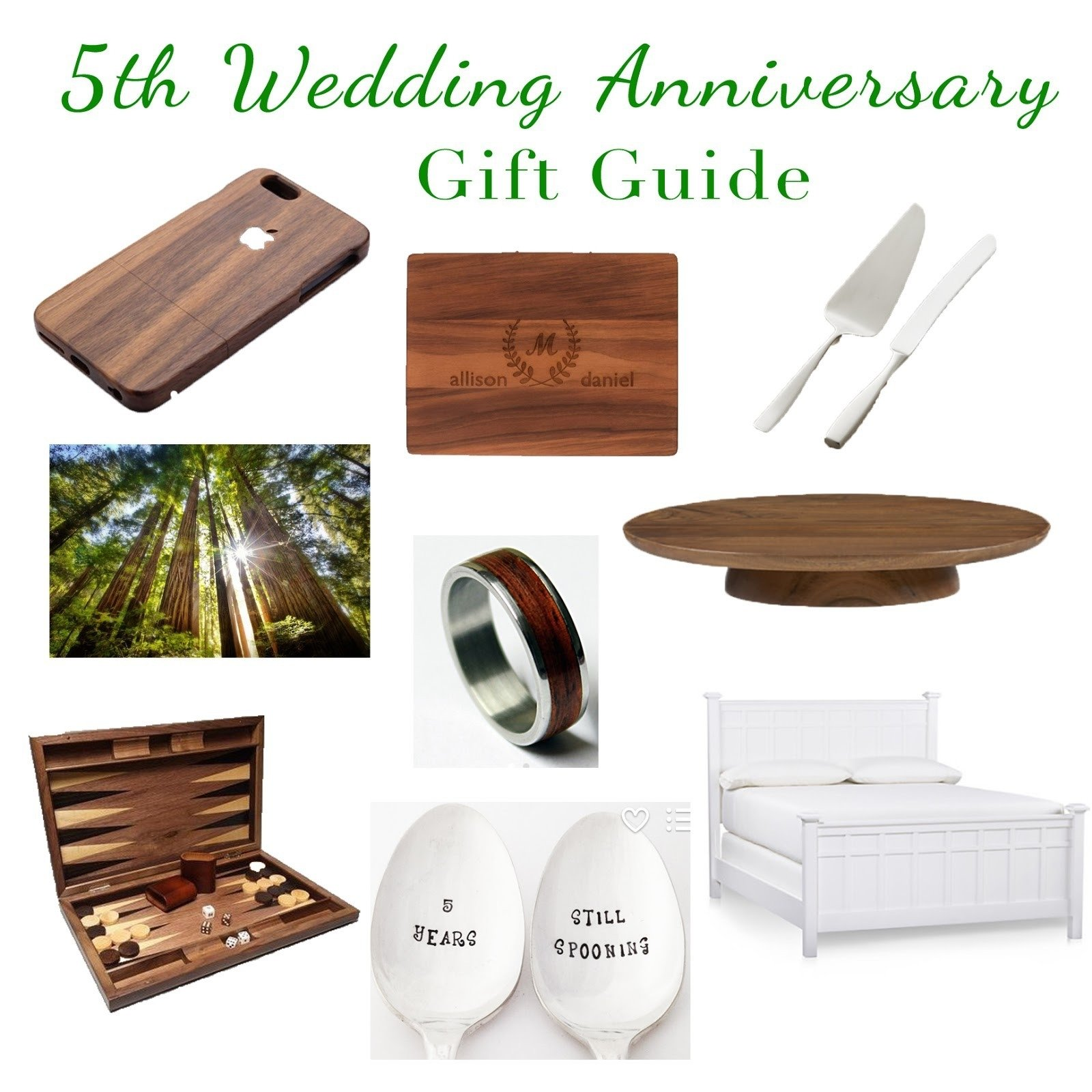 10 Gorgeous Five Year Anniversary Gift Ideas fifth year wedding anniversary gift ideas elegant the adventure 1 2021