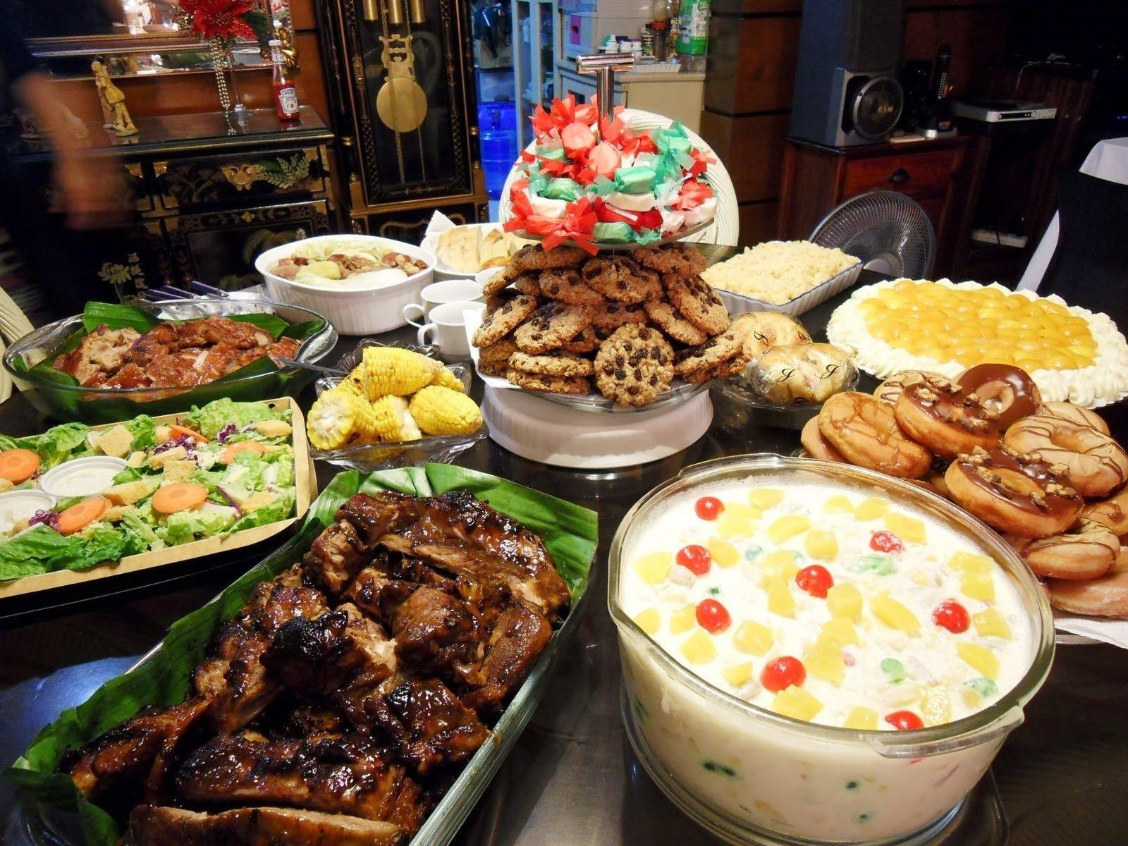 10 Stylish New Years Eve Dinner Ideas filipino media noche recipes on new years eve barako newsline 3