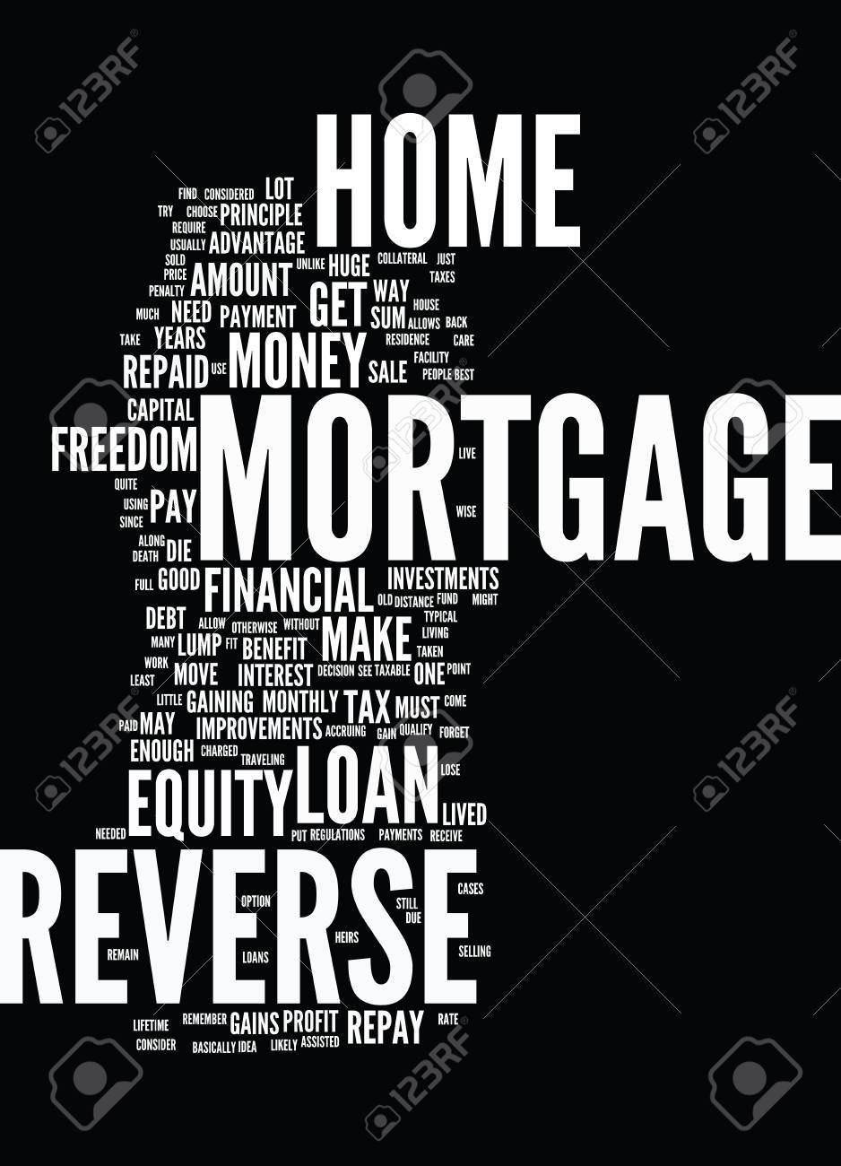 10 Gorgeous Is A Reverse Mortgage A Good Idea financial freedom reverse mortgage forget capital gains tax text 1 2021