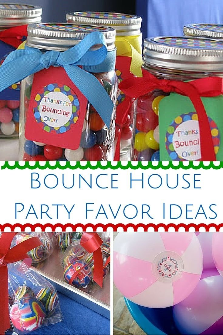 10 Fashionable Bounce House Birthday Party Ideas find the best bounce house party favor ideas here if you or your 2021