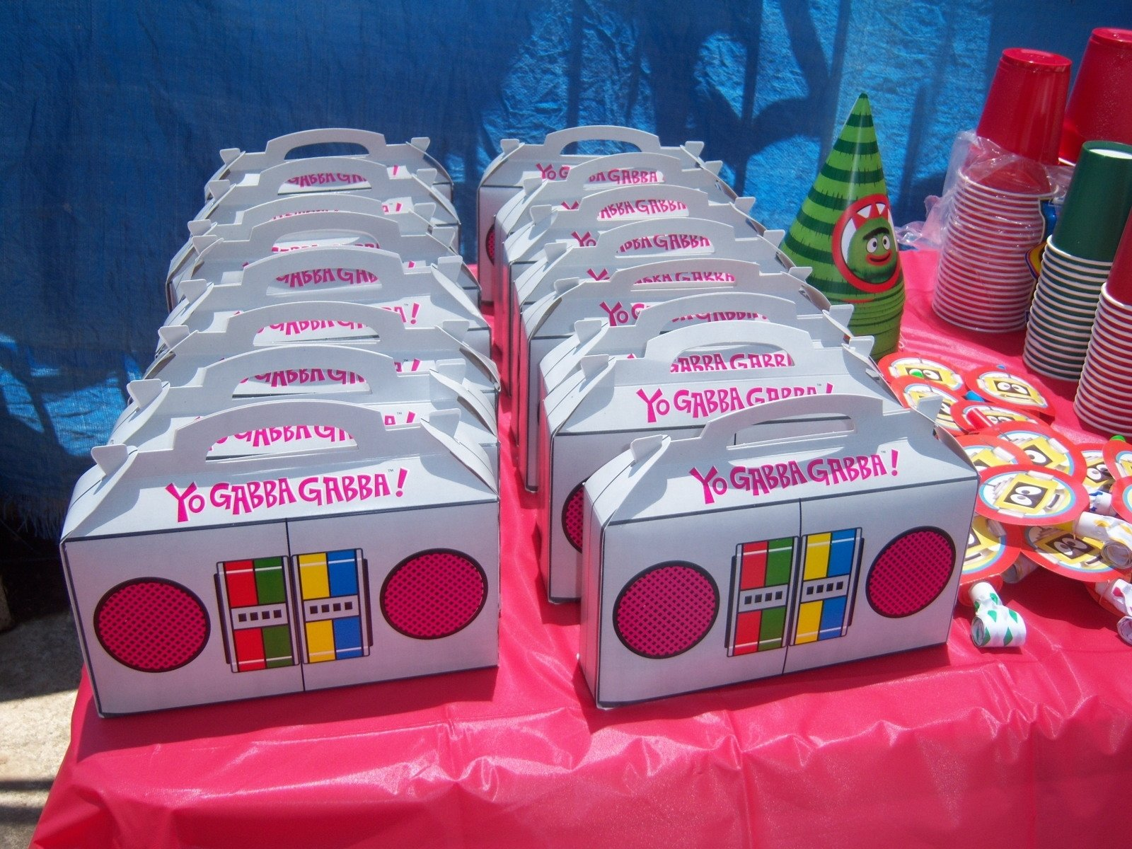 10 Great Yo Gabba Gabba Birthday Party Ideas finest yo gabba party ideas 5 25548 1 2020