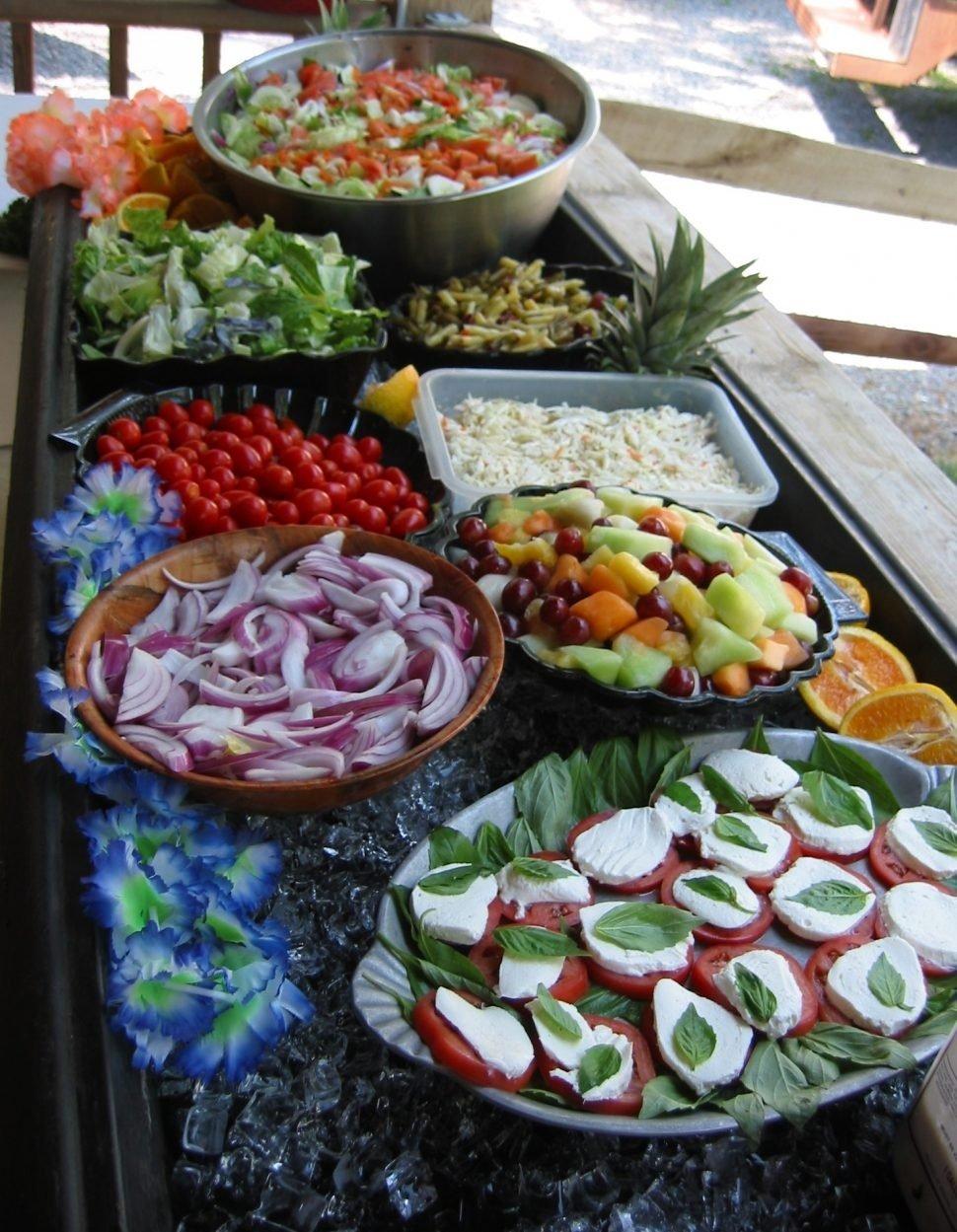 10 Perfect Wedding Reception Buffet Menu Ideas