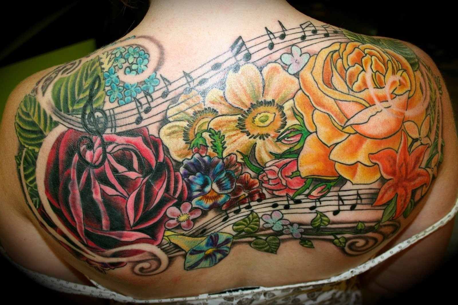 10 Cute Back Tattoo Cover Up Ideas finished anitas back today the tattoo encompasses one cover up 2020