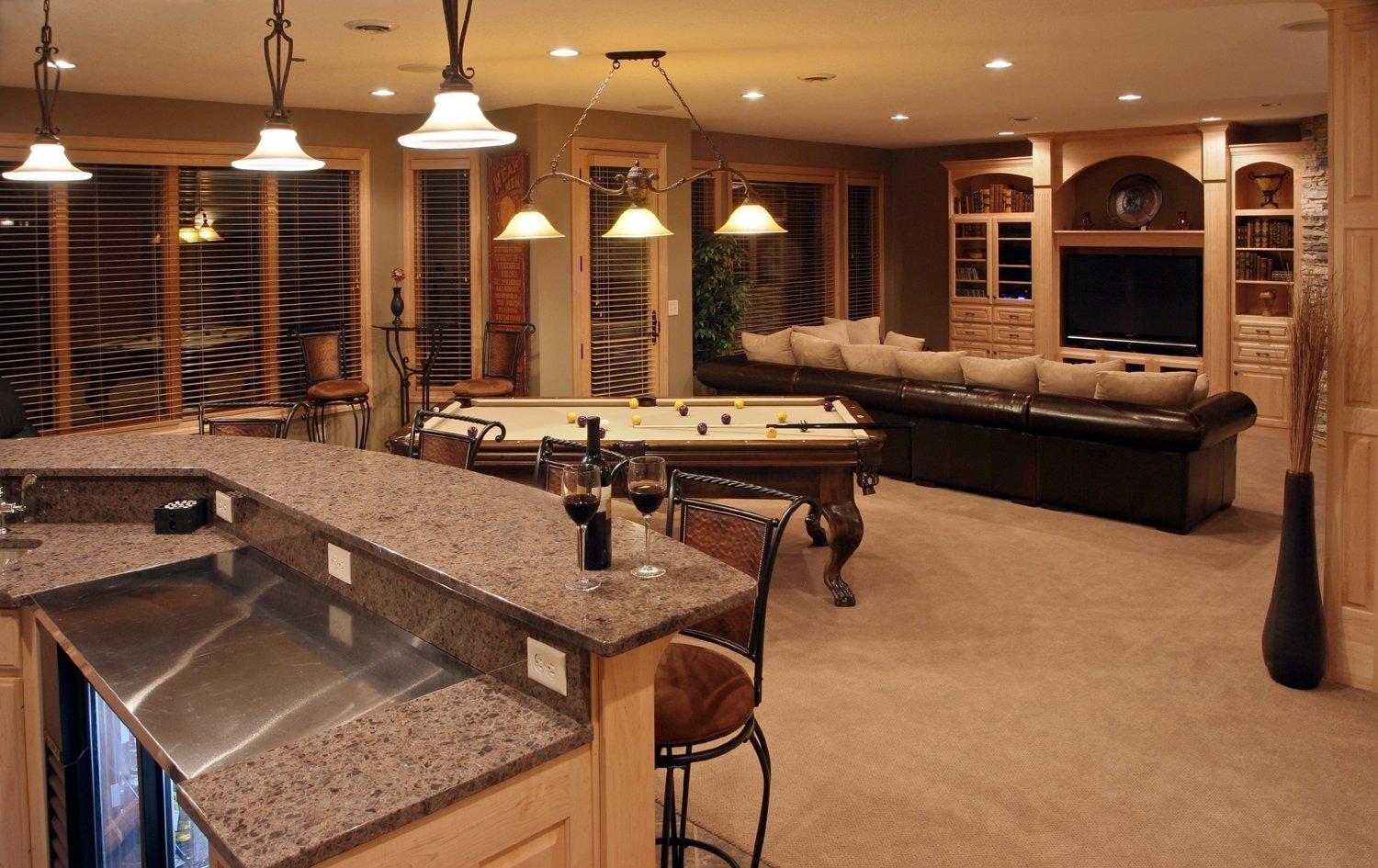 10 Fantastic Basement Ideas On A Budget finished basements on a budget regarding lates 933 2020