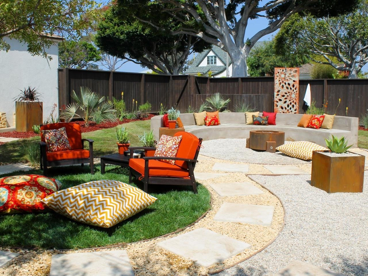 10 Perfect Patio Design Ideas With Fire Pits fire pit and outdoor fireplace ideas diy network made designs patio 2021