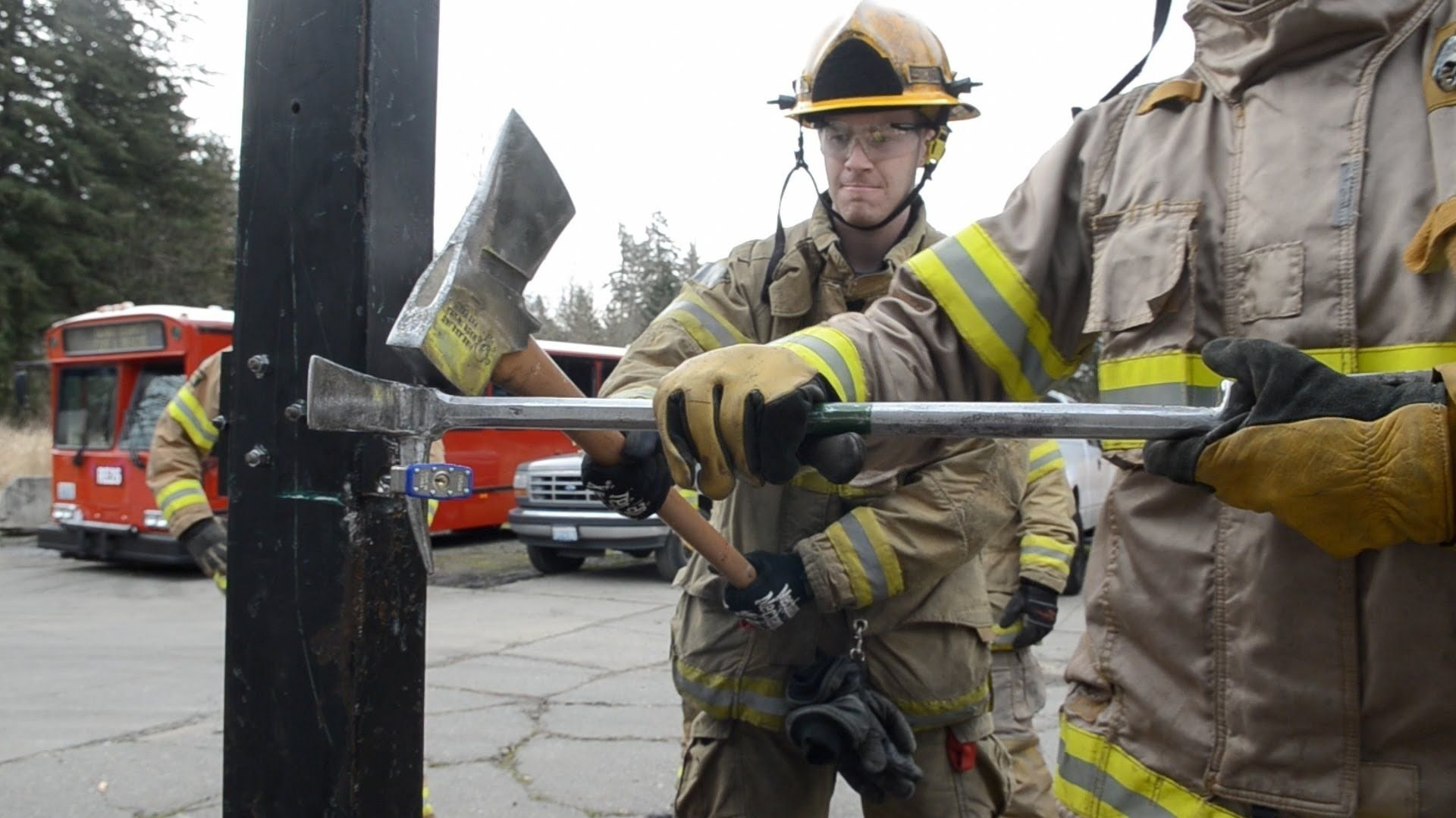 10 Pretty Volunteer Fire Department Training Ideas firefighter forcible entry training game show funny pinterest 2021