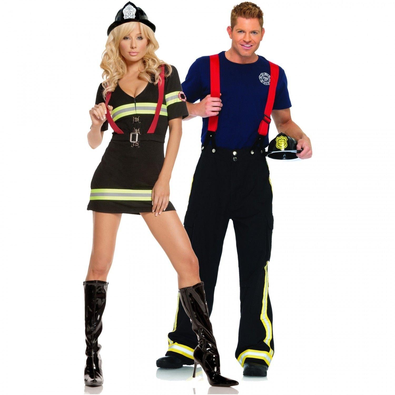 10 Great Sexy Couples Halloween Costume Ideas fireman and firefighter sexy couples costume halloween pinterest 2021