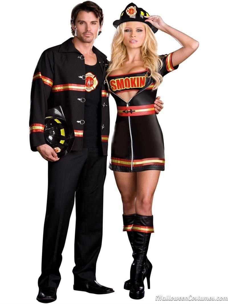 fireman couples halloween costume - halloween costumes 2013