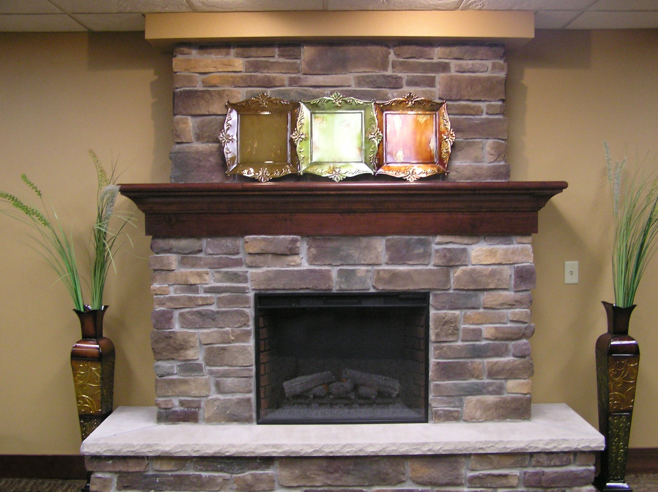 10 Spectacular Decorating Ideas For Fireplace Mantel fireplace mantel decor home decorating ideas 004 loversiq 2020