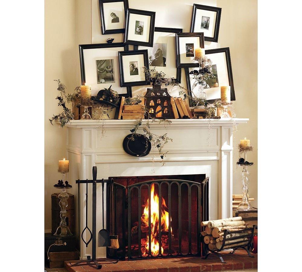 10 Unique Ideas For Fireplace Mantel Decor fireplace mantel design decobizz