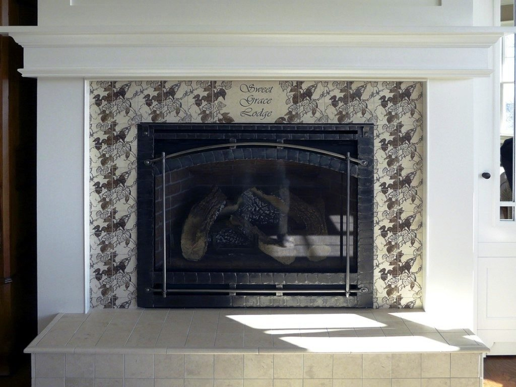 10 Unique Fireplace Design Ideas With Tile fireplace tile design ideas on the mantel and hearth ideas 4 homes 2020