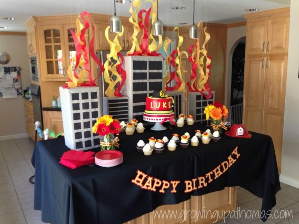 10 Awesome Fire Truck Birthday Party Ideas firetruck birthday party www growingupathomas fireman 2020