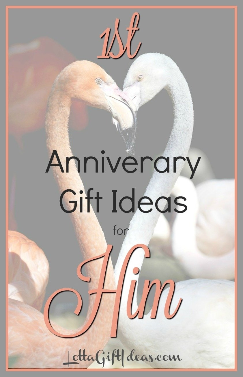 10 Stunning First Anniversary Gift Ideas For Him first anniversary gift ideas for him lotta gift ideas 1 2021