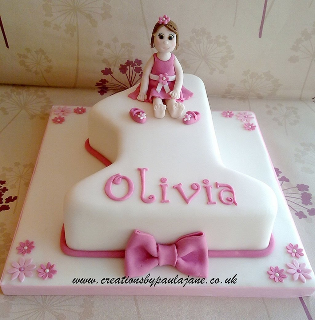 10 Most Popular First Birthday Cake Ideas For Girls first birthday cake girl 1024x1039 birthday ideas 2020