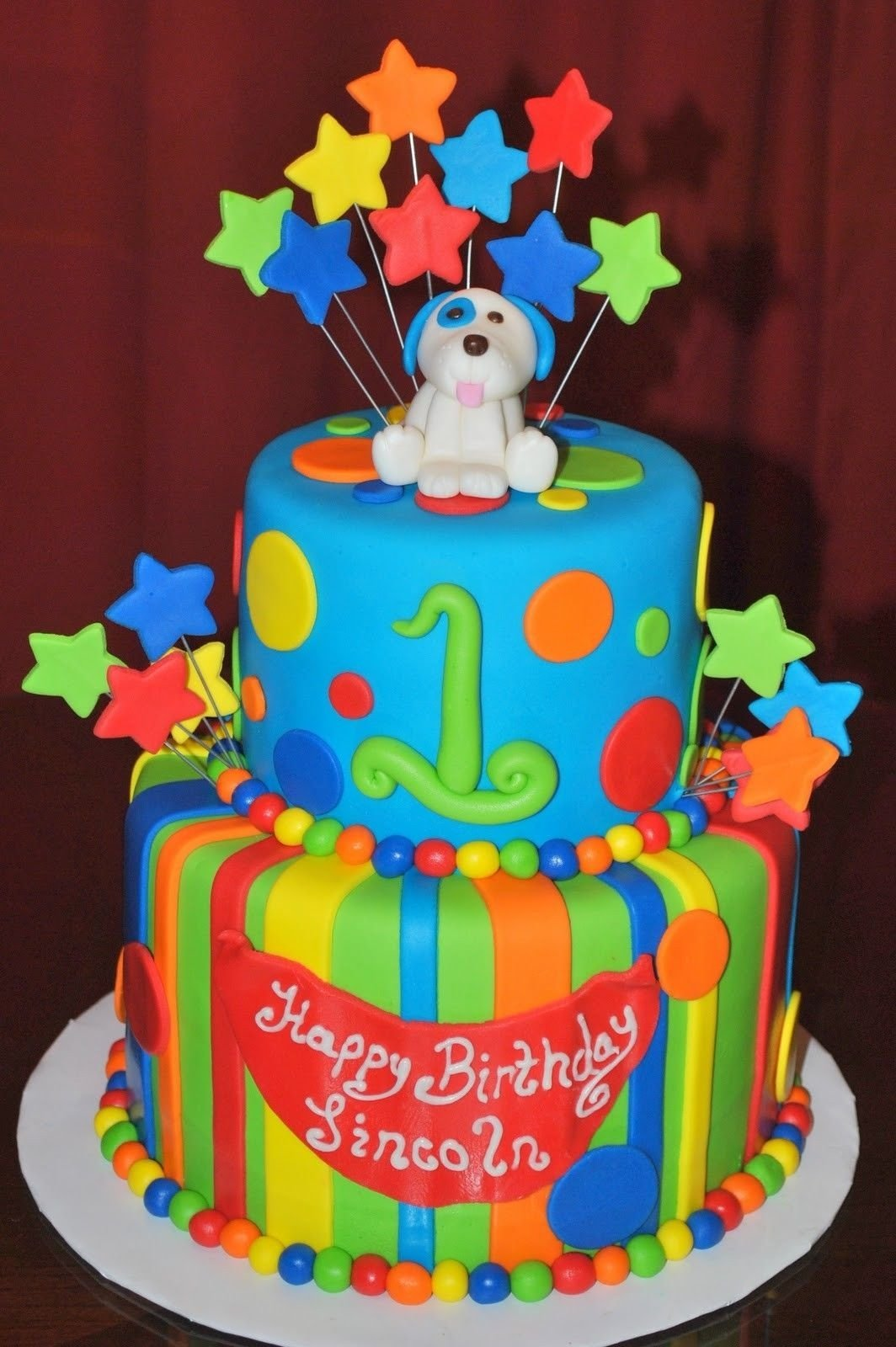 10 Spectacular Baby First Birthday Cake Ideas