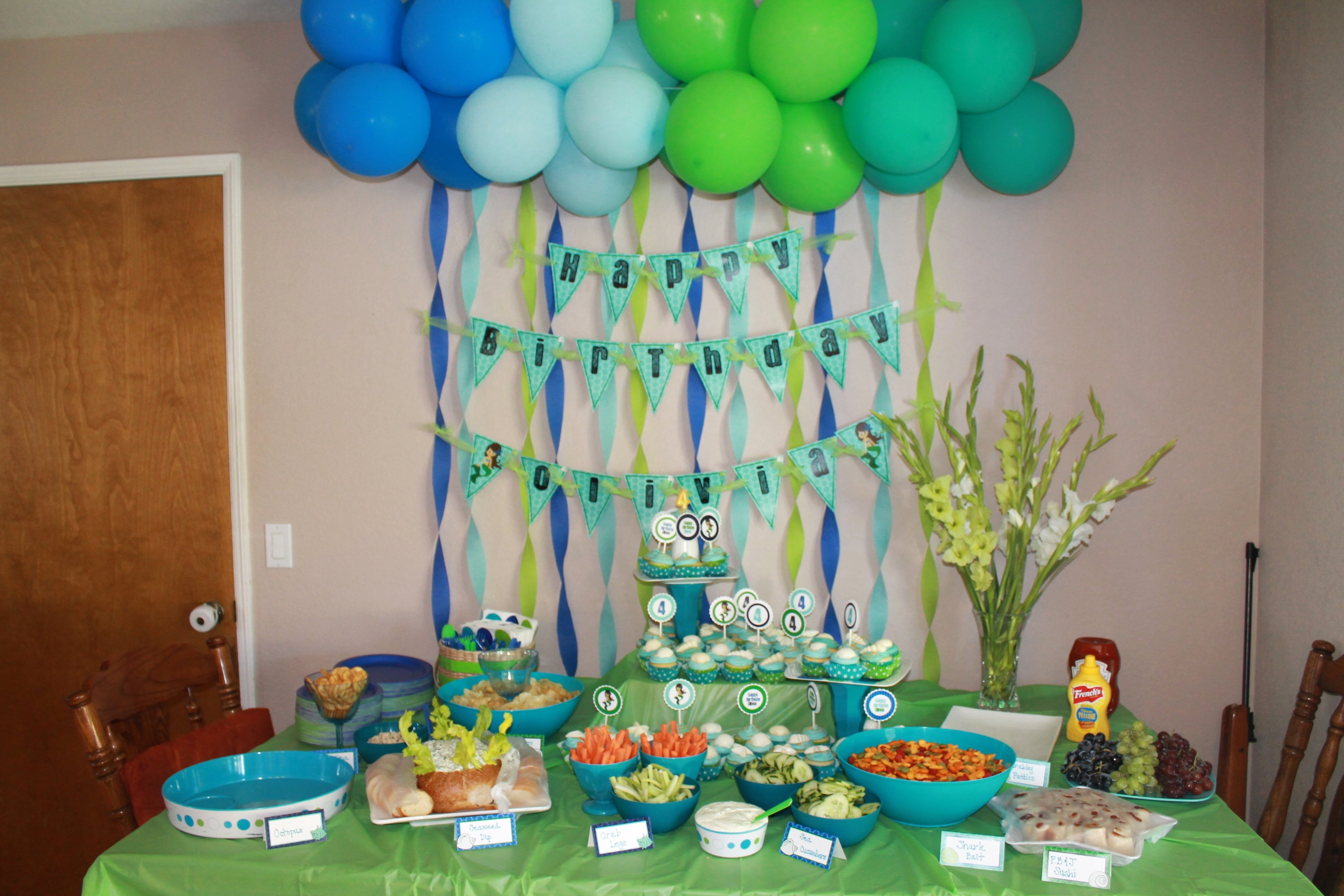 10 Unique Birthday Party At Home Ideas First Decoration For Girl Beautiful