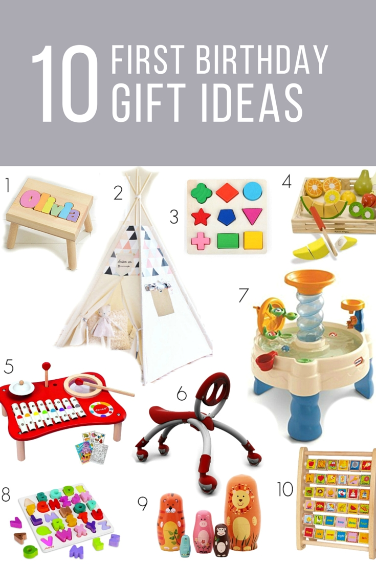 10 Cute 1St Birthday Gift Ideas For Girls first birthday gift ideas for girls or boys birthday party 1 2021