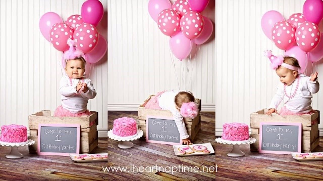 10 Attractive 1St Girl Birthday Party Ideas first birthday party decor ideas for girls youtube 19 2020
