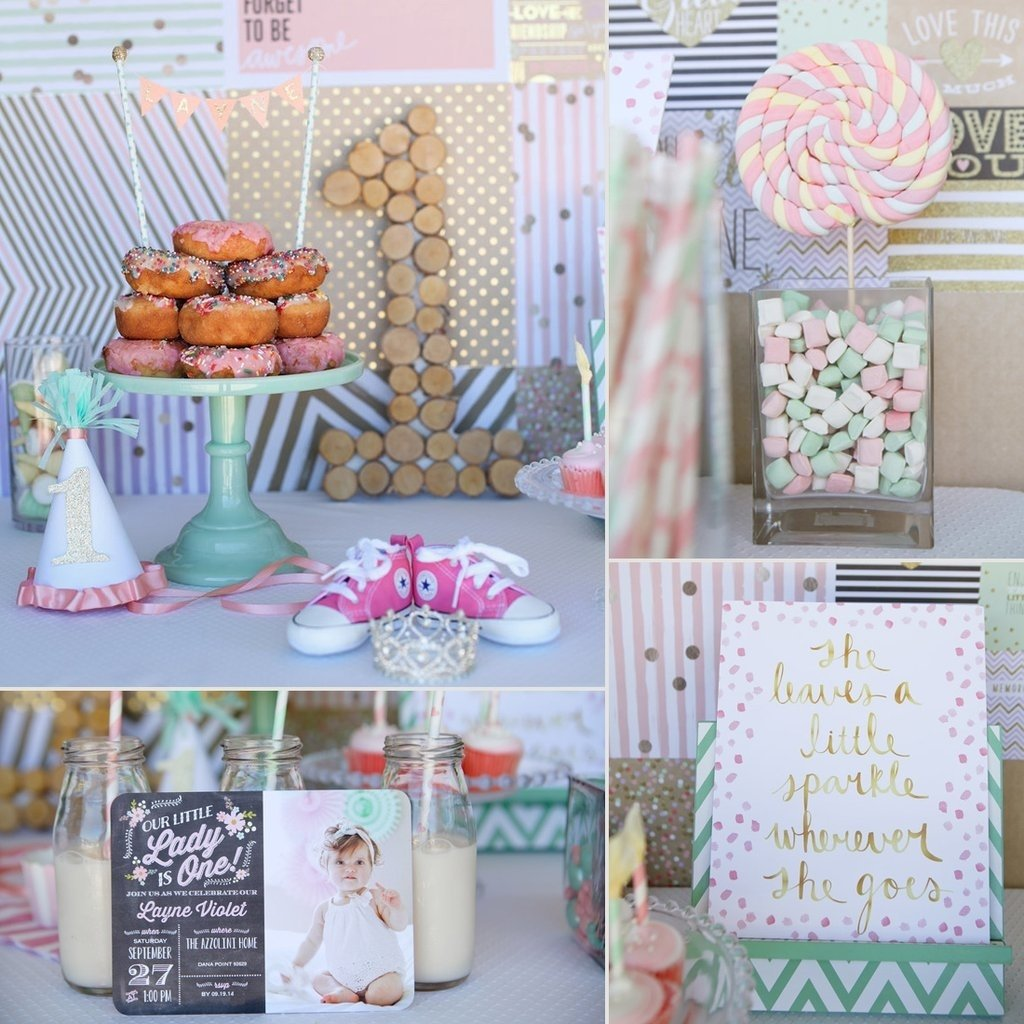 10 Unique Ideas For First Birthday Party first birthday party ideas for girls popsugar moms 21
