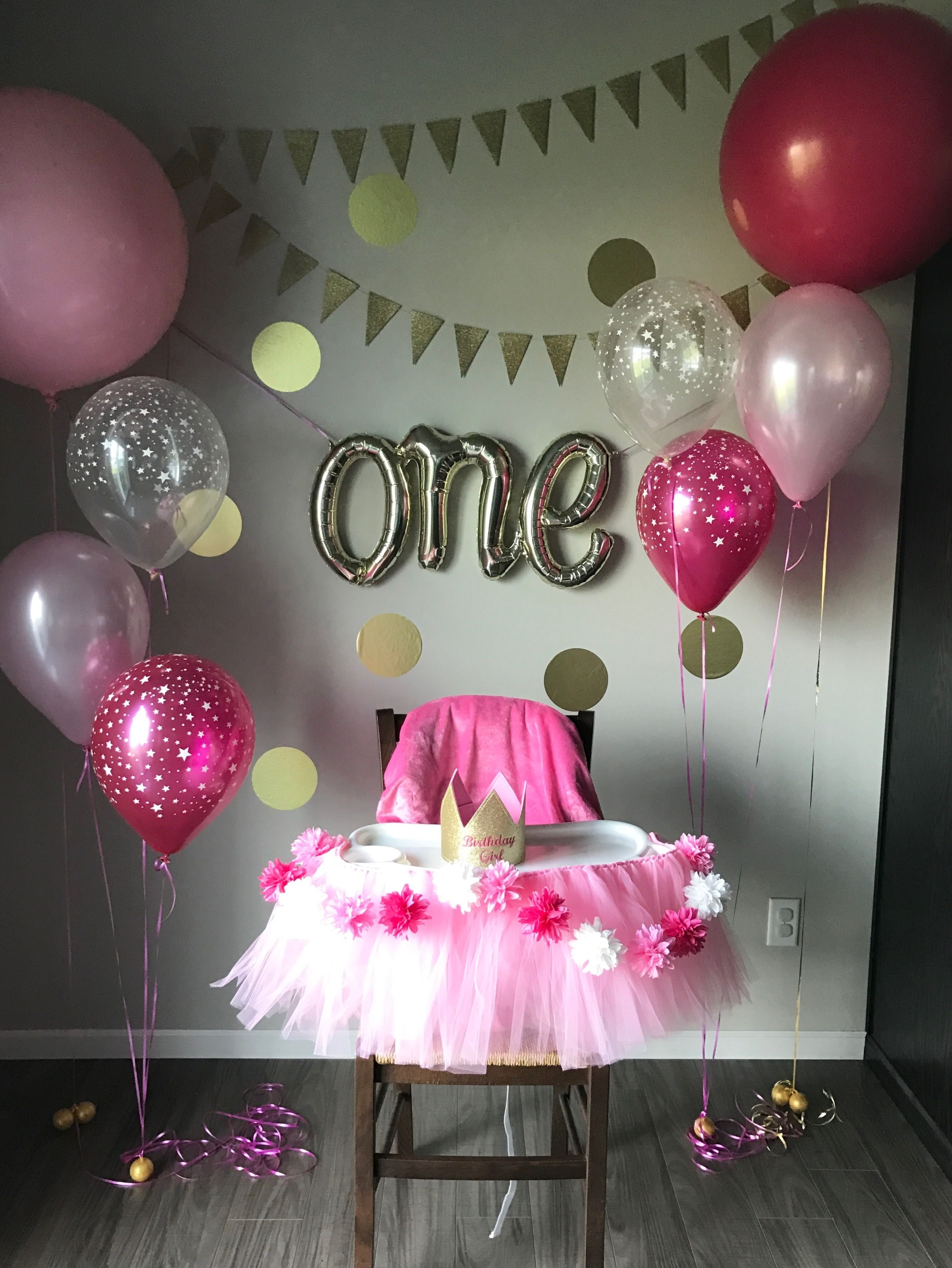 10 Attractive 1St Girl Birthday Party Ideas first birthday party pinteres 16 2020