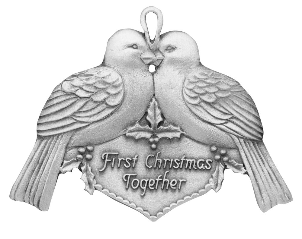 10 Ideal First Christmas Together Gift Ideas first christmas together ornament handcrafted new hampshire 2021