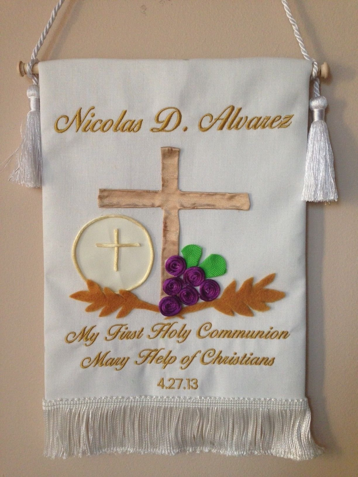first communion ideas party | first_communion_banner_10 | communion