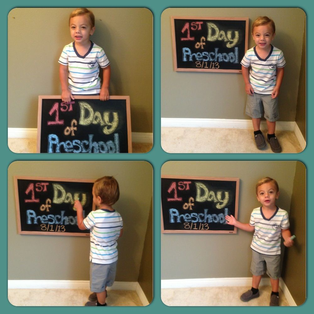 first day of preschool | preschool photography | pinterest