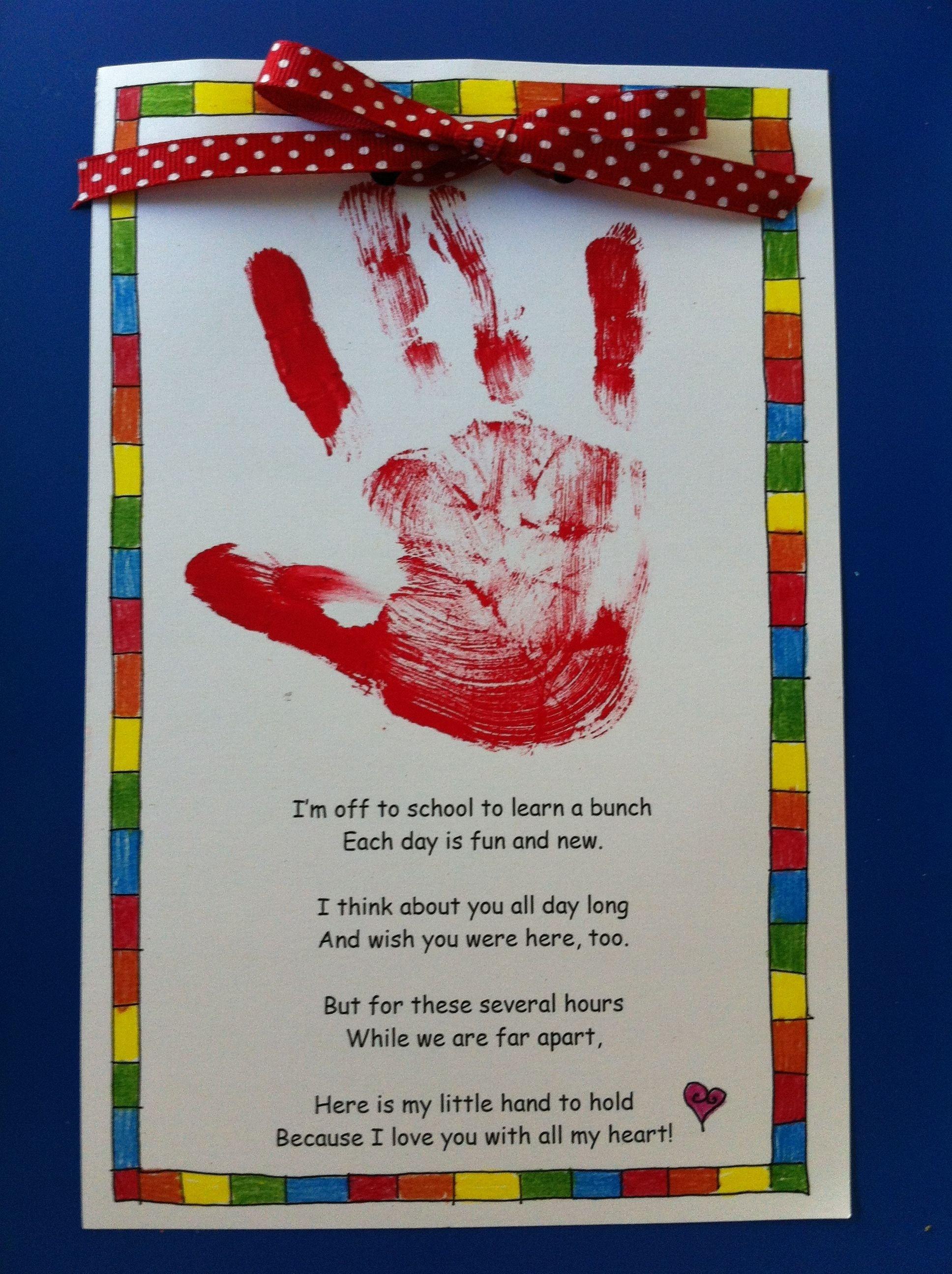 10 Fabulous First Day Of Preschool Ideas first day of school activity first day of kindergarten activity 2