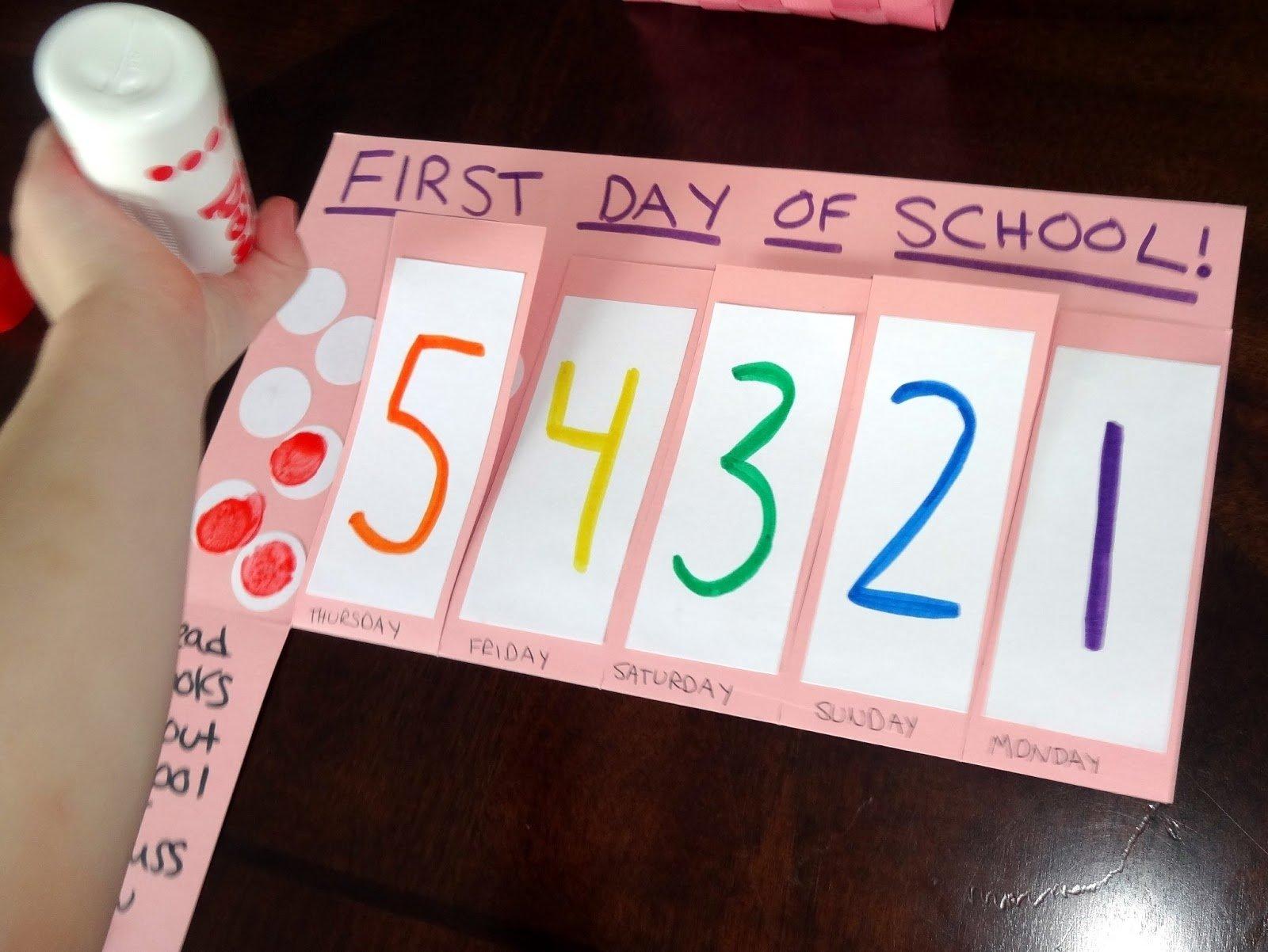 10 Fabulous First Day Of Preschool Ideas first day of school first day of school activities for kindergarten