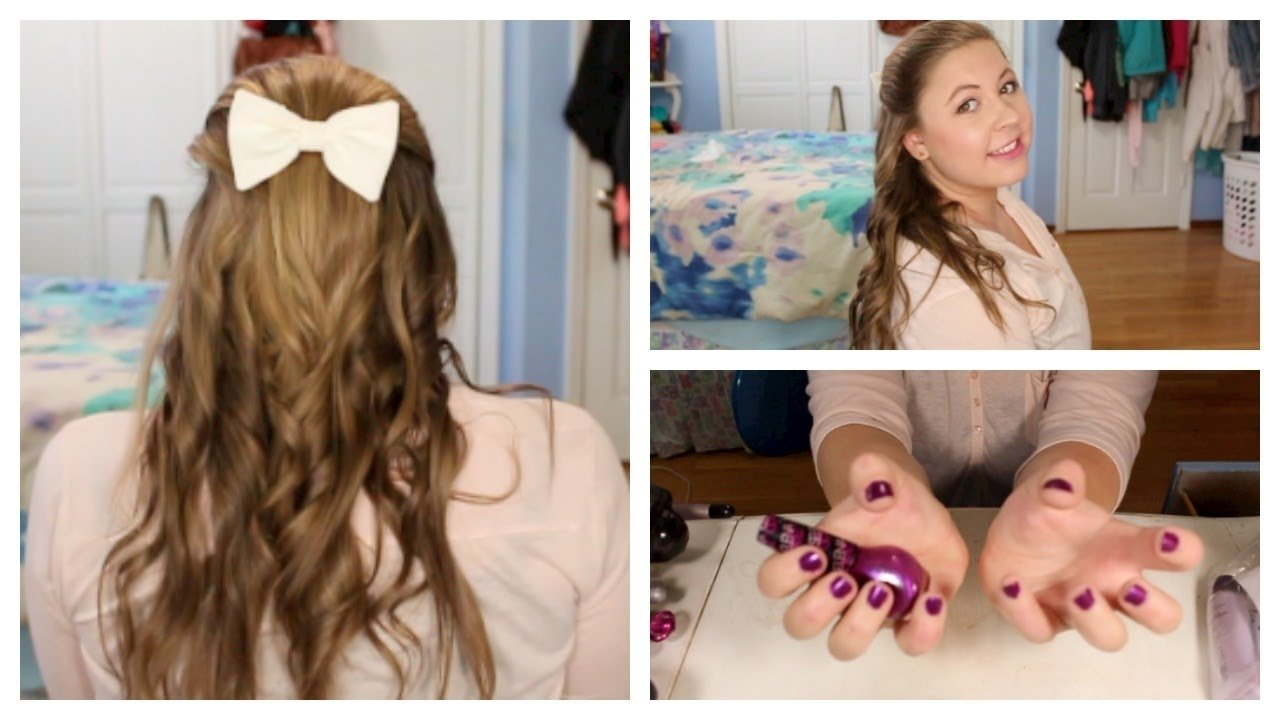 10 Unique First Day Of School Hair Ideas first day of school hair makeup nails youtube 2020