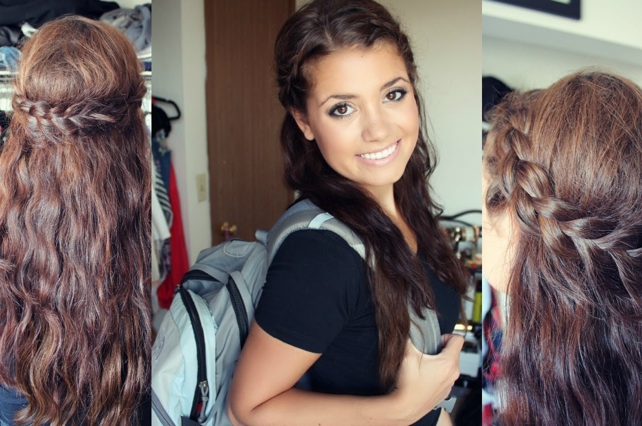 first day of school hair tutorial!♡ - youtube