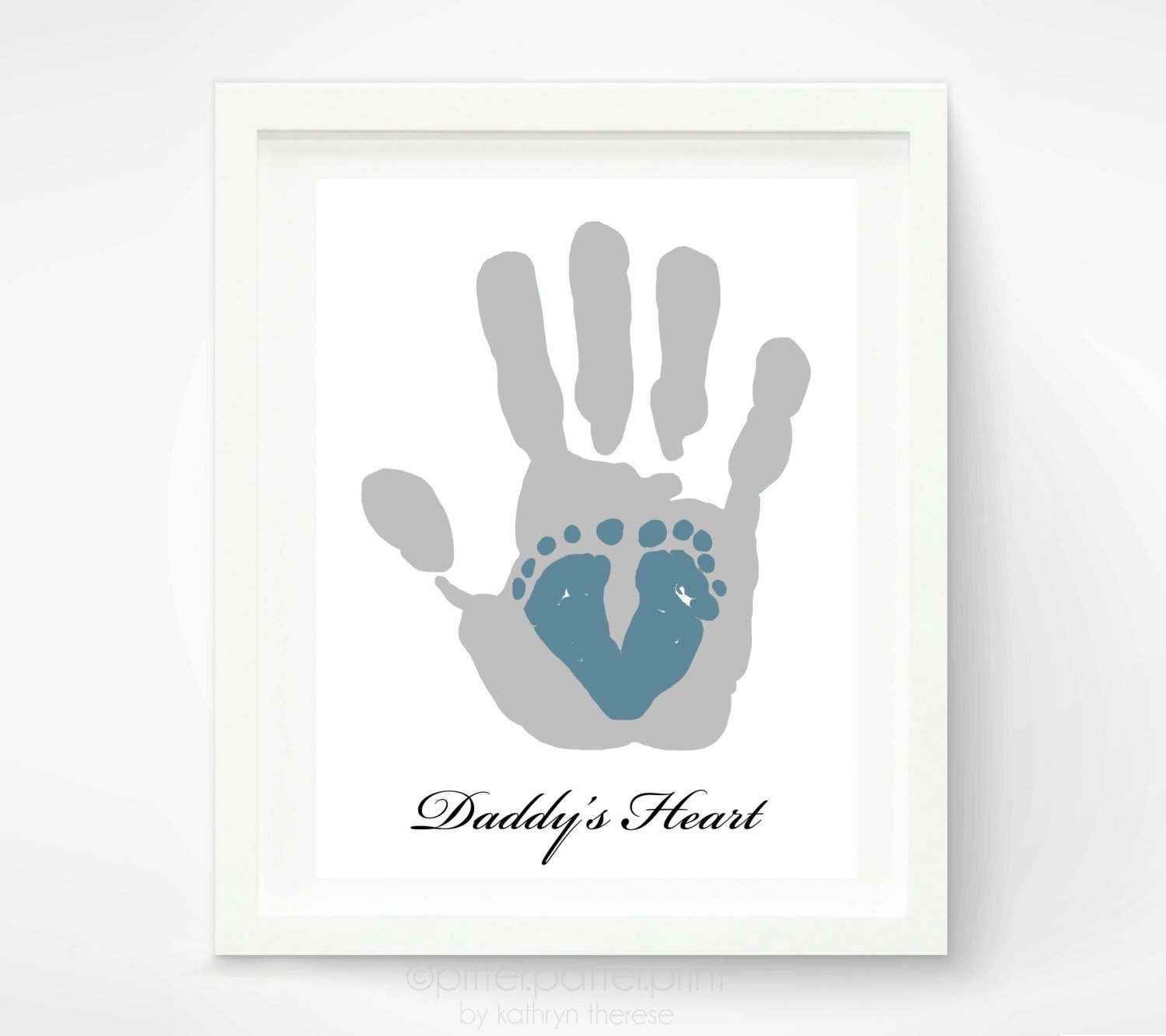 10 Lovable First Mothers Day Gift Ideas first fathers day gift for new dad baby footprint daddy 1 2020