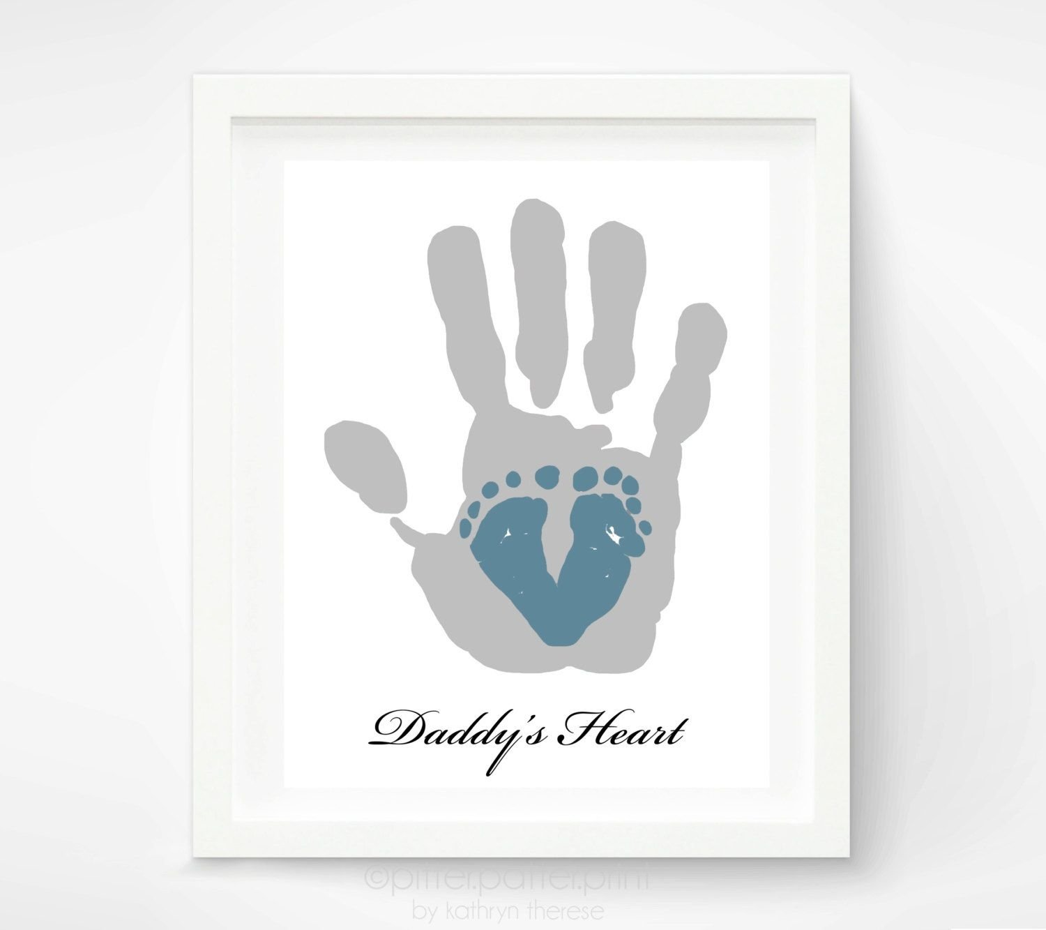 10 Pretty First Father Day Gift Ideas first fathers day gift for new dad baby footprint daddy