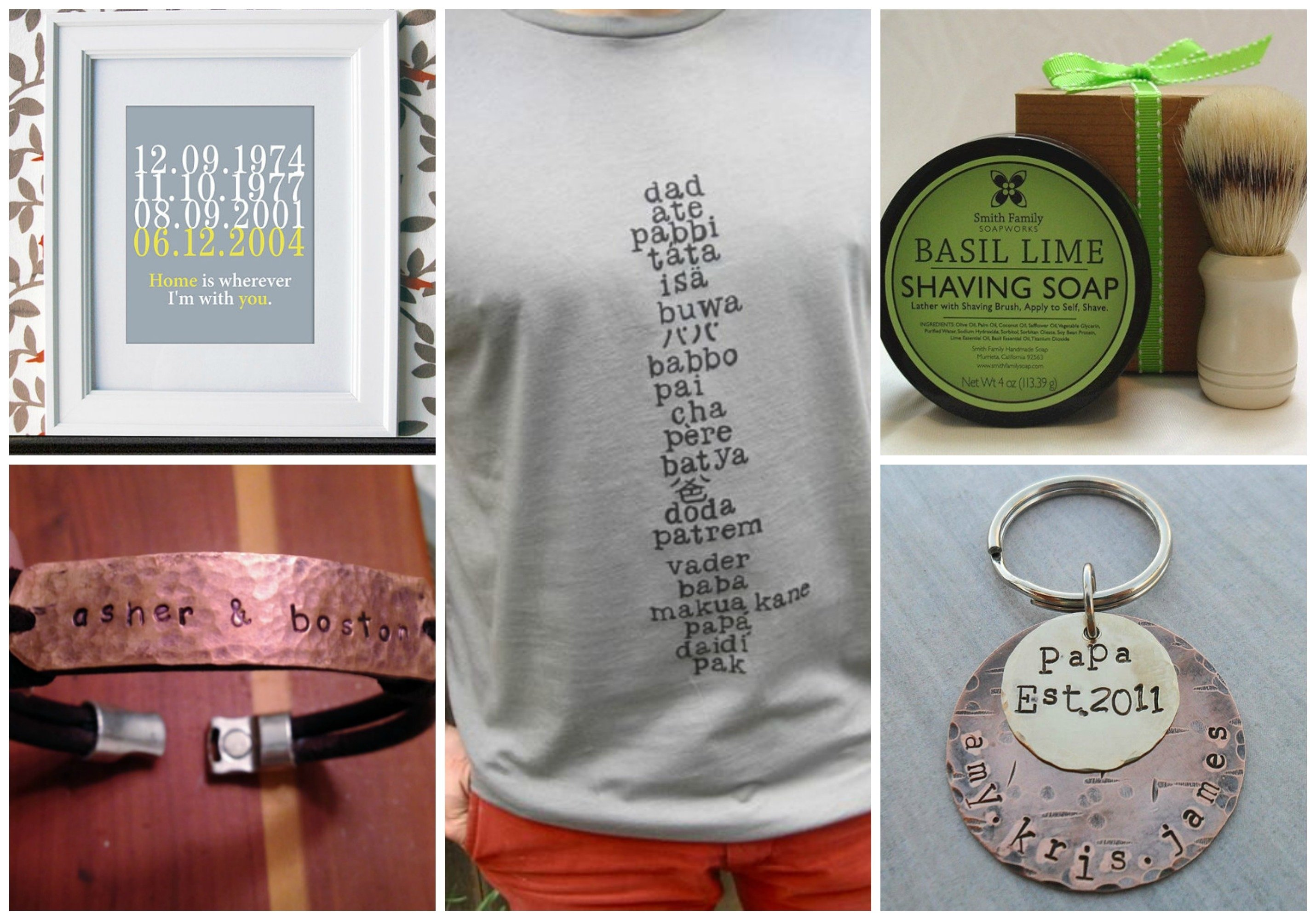 10 Ideal First Time Dad Gift Ideas first fathers day gifts from etsy savvy sassy moms 2020