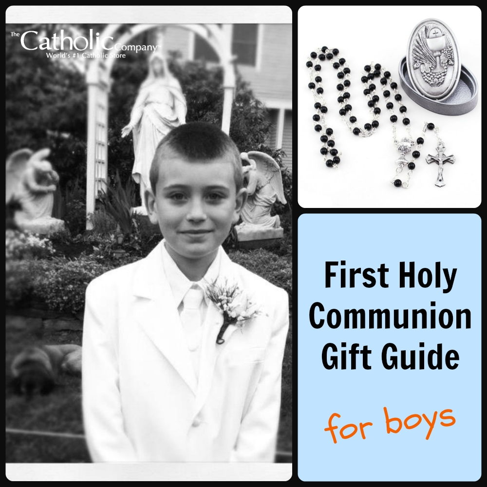 10 Pretty First Communion Gift Ideas For Boys first holy communion gift guide for boys 2020