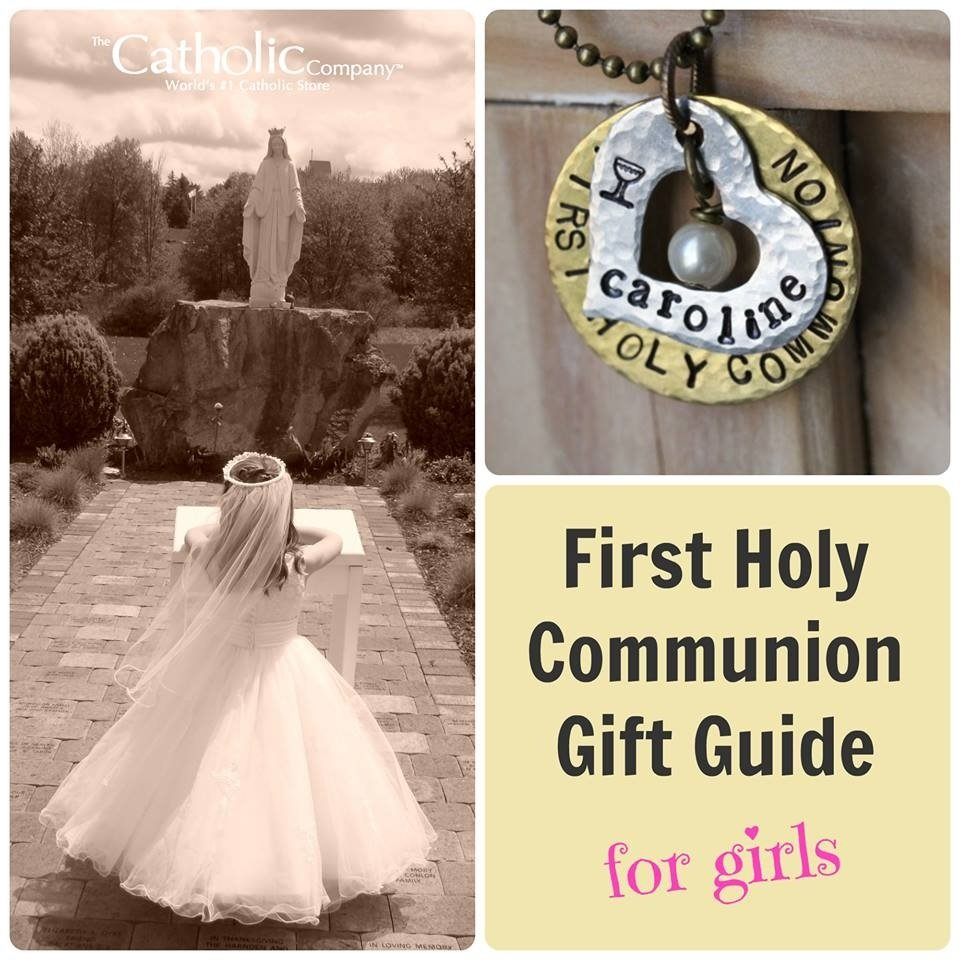 10 Fashionable Gift Ideas For First Communion Girl