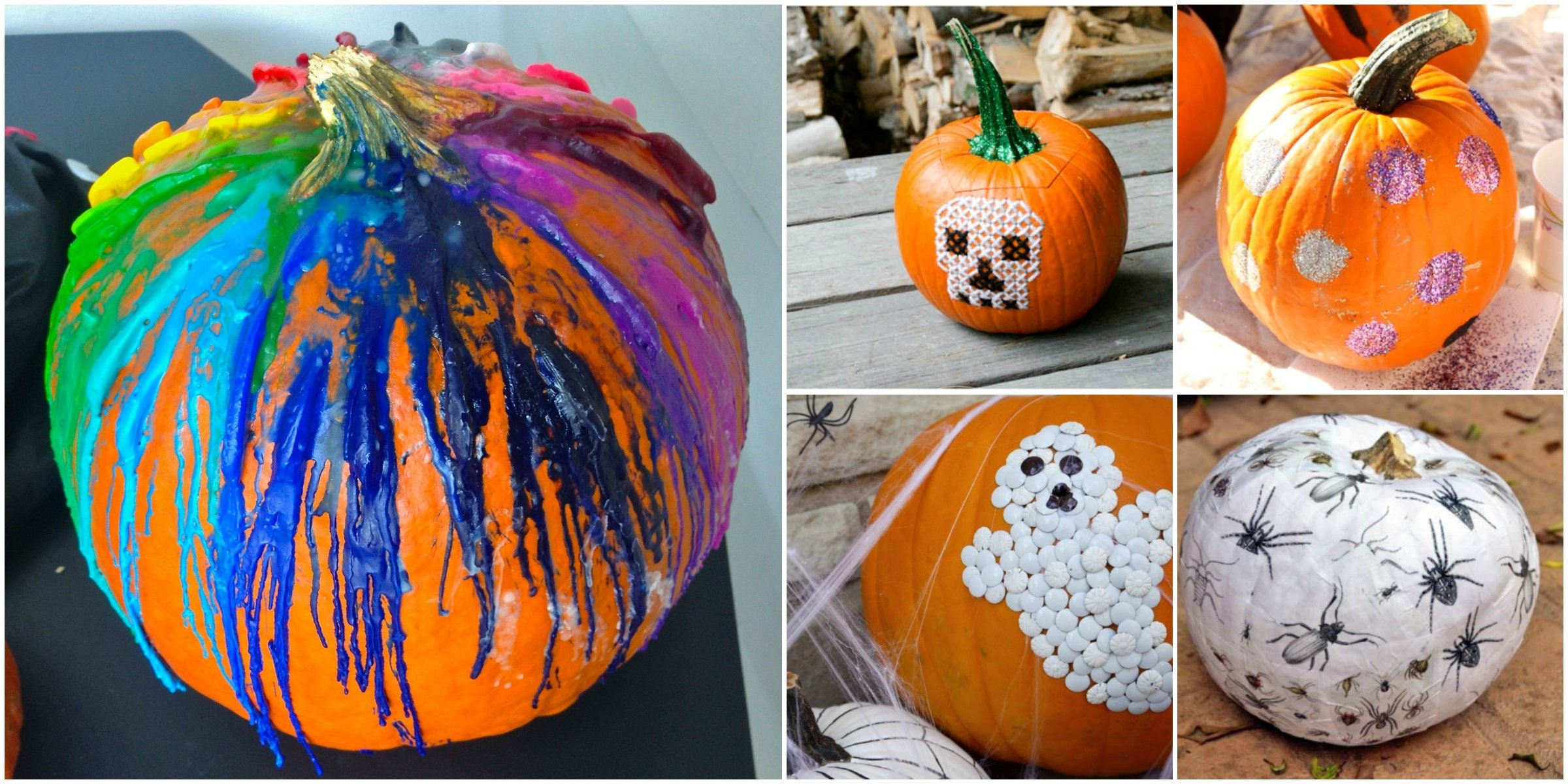 five kid-friendly no carve pumpkin ideas for halloween – frugal
