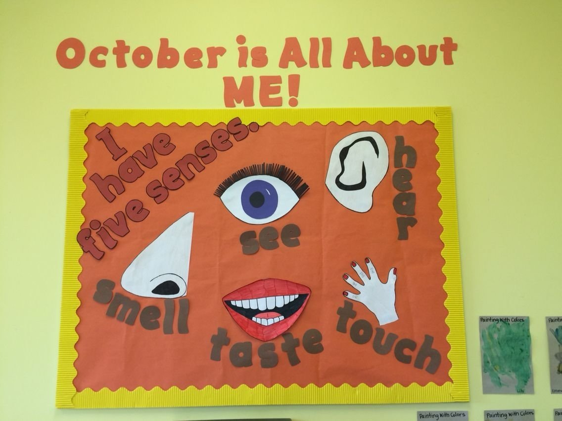 10 Most Recommended All About Me Bulletin Board Ideas five senses board bulletin board ideas pinterest 2020