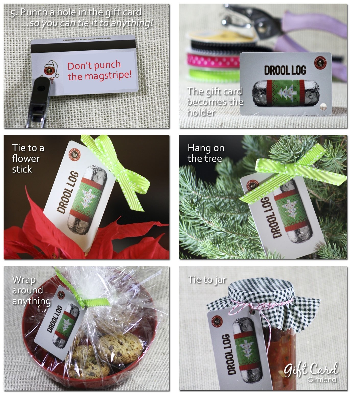 five super easy, last-minute gift card wrapping ideas | gcg
