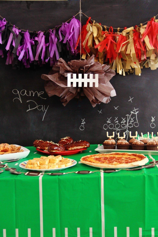 10 Amazing Super Bowl Party Decorating Ideas five ways to diy your super bowl party decorating home living