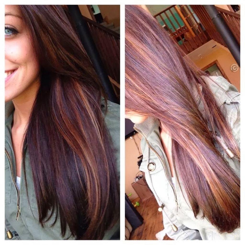 10 Stunning Hair Highlight Ideas For Brown Hair flattering dark brown hair with caramel highlights hairstyles