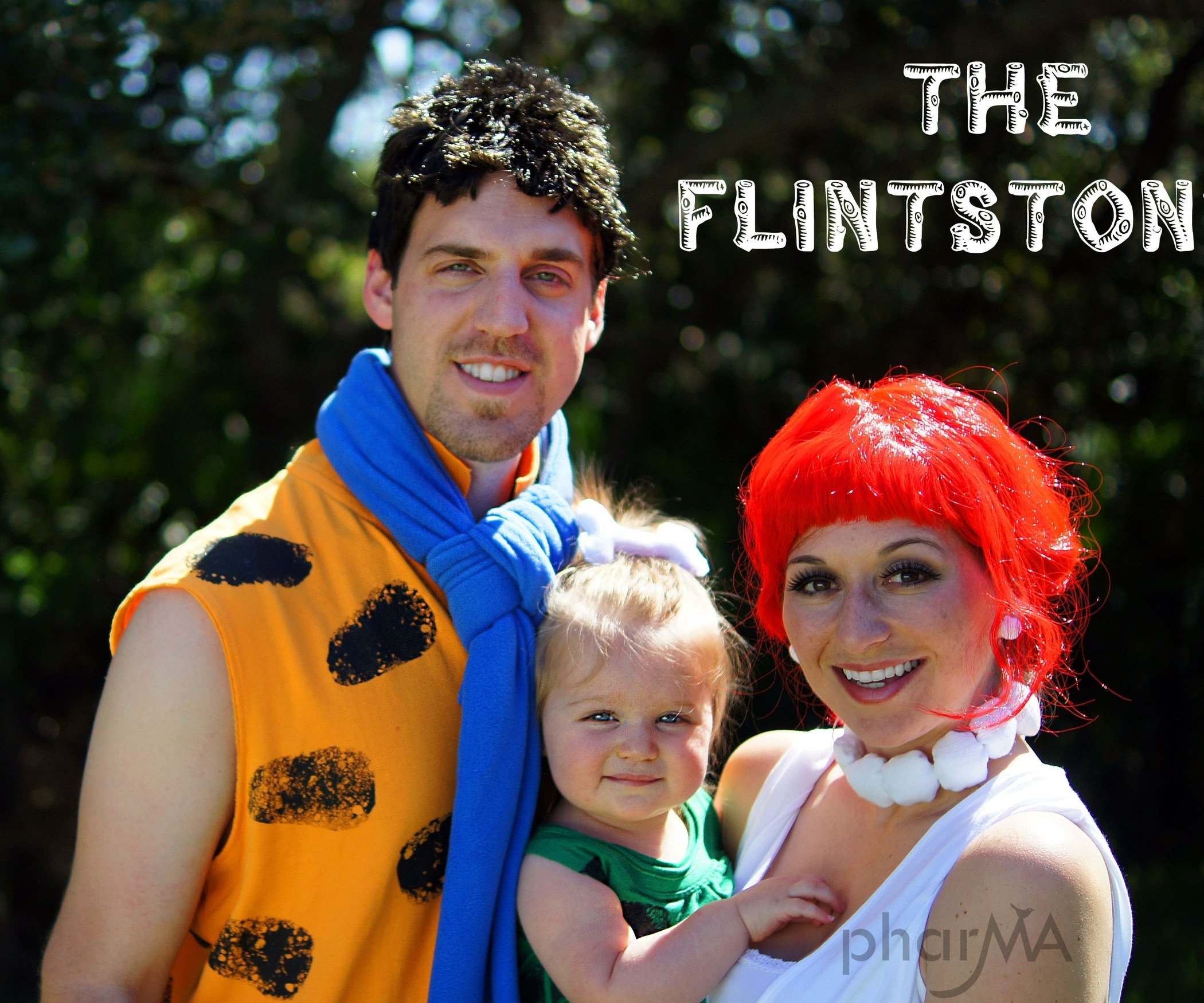 10 Fantastic Family Of 3 Halloween Costume Ideas flintstones family halloween costumes 1 2020