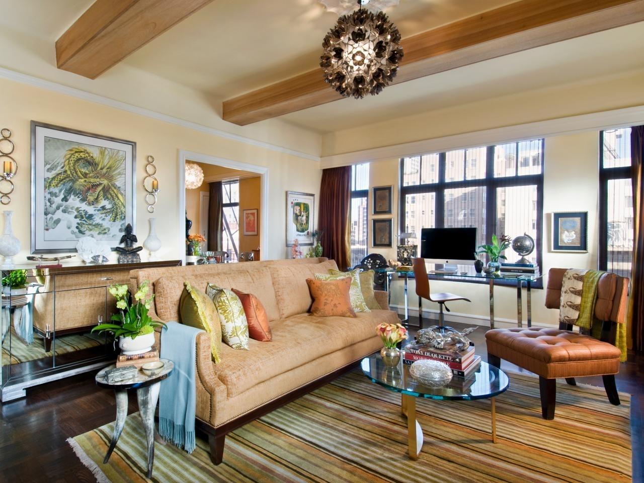floor planning a small living room | hgtv