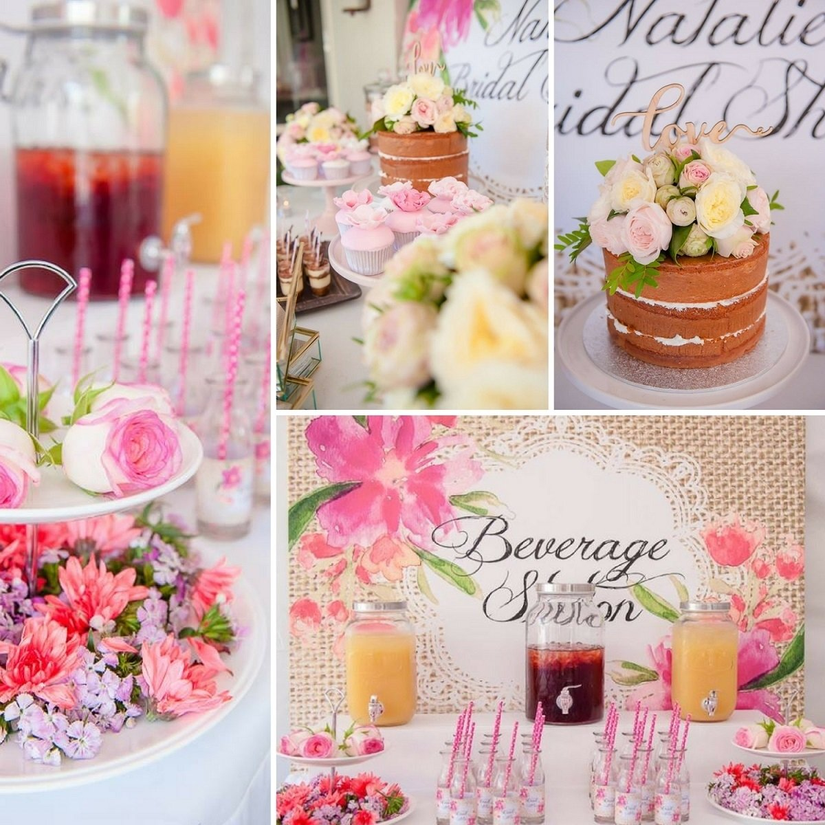 10 Nice Bridal Shower Ideas And Themes floral pastel bridal shower bridal shower ideas themes 2020
