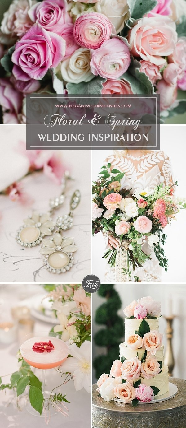 floral wedding décor ideas for spring 2018 – elegantweddinginvites