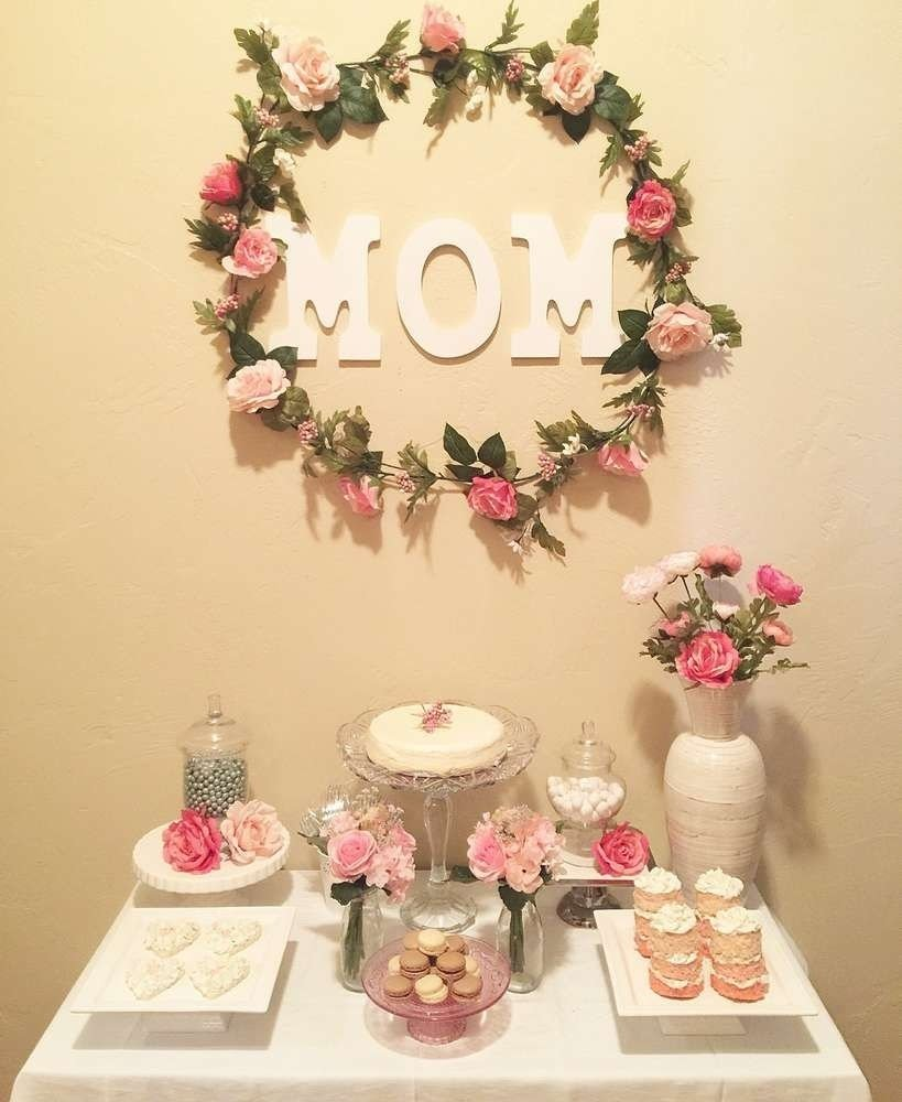 florals birthday party ideas | floral, birthdays and mom birthday