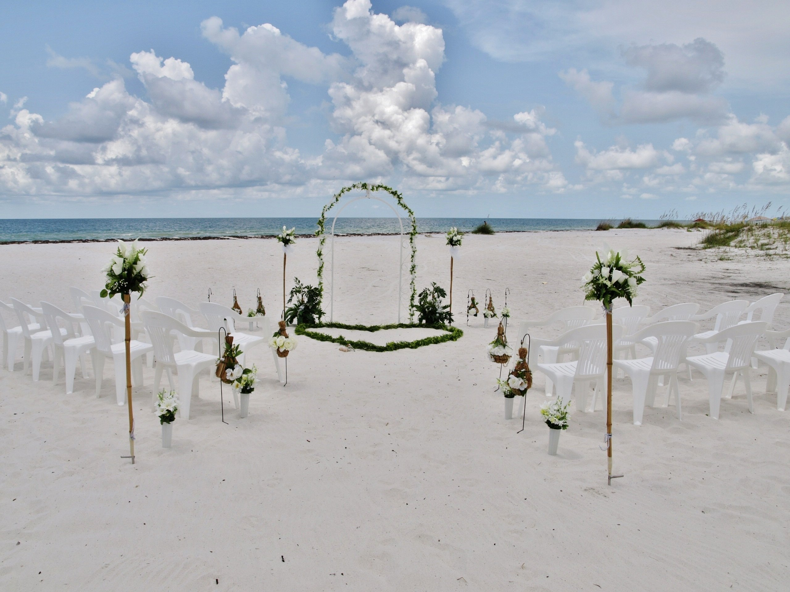 florida beach weddings, fl beach weddings, clearwater beach weddings