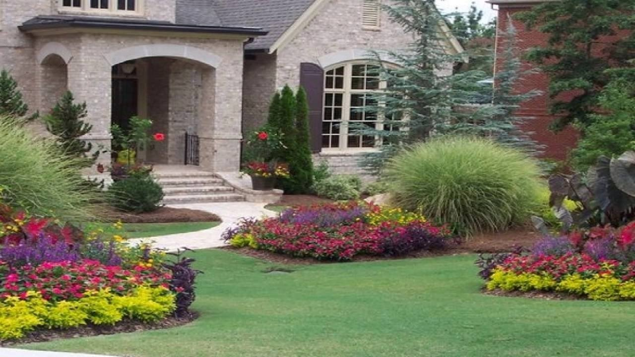 10 Lovable Flower Bed Ideas For Front Of House flower garden ideas for front of house youtube 2021