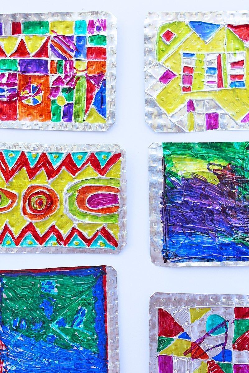 10 Attractive Art Project Ideas For Kids folk art project for kids hojalata tin art babble dabble do 2021