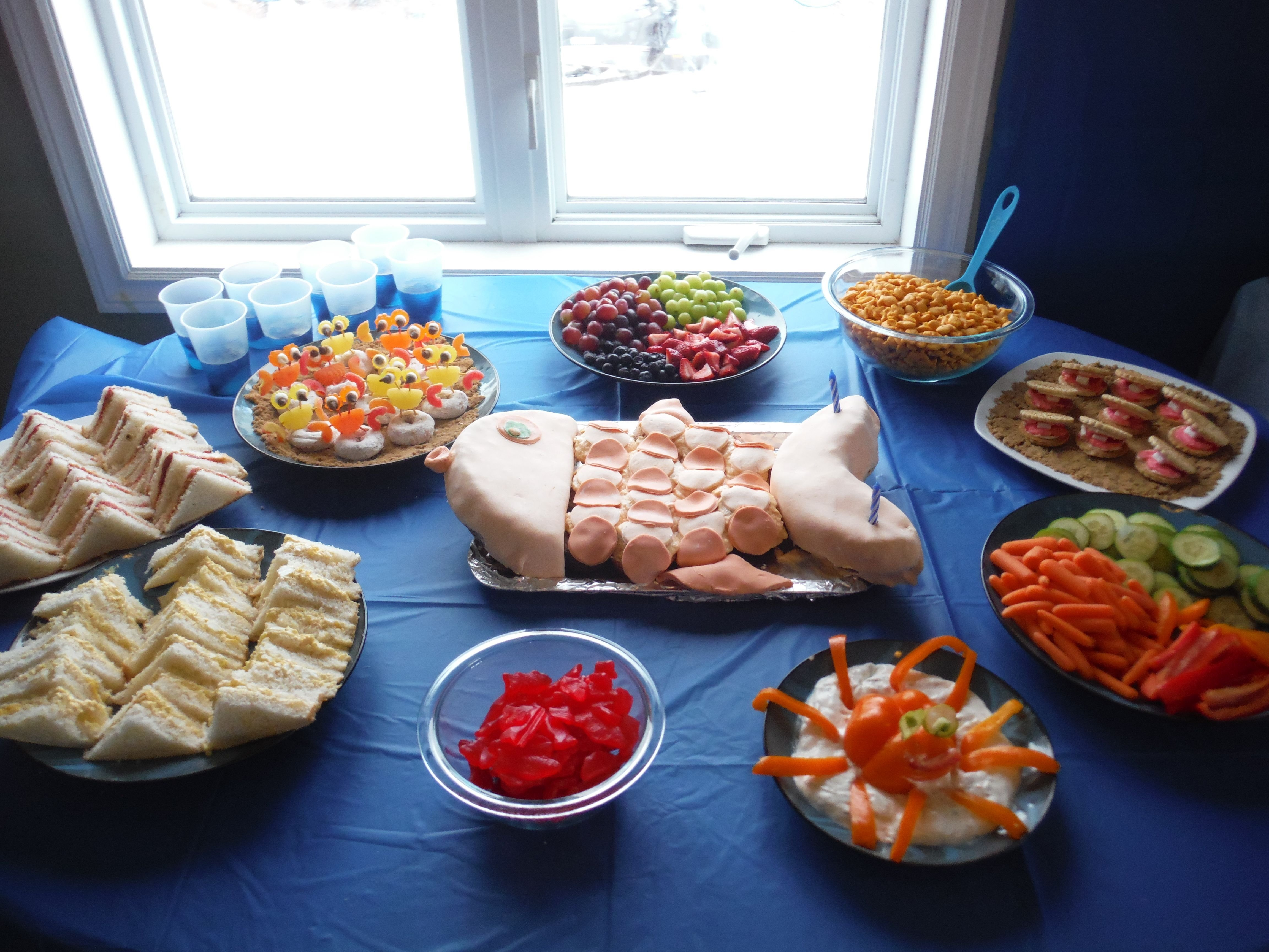 10 Gorgeous Bubble Guppies Party Food Ideas food for a bubble guppies party birthday ideas pinterest 1 2020